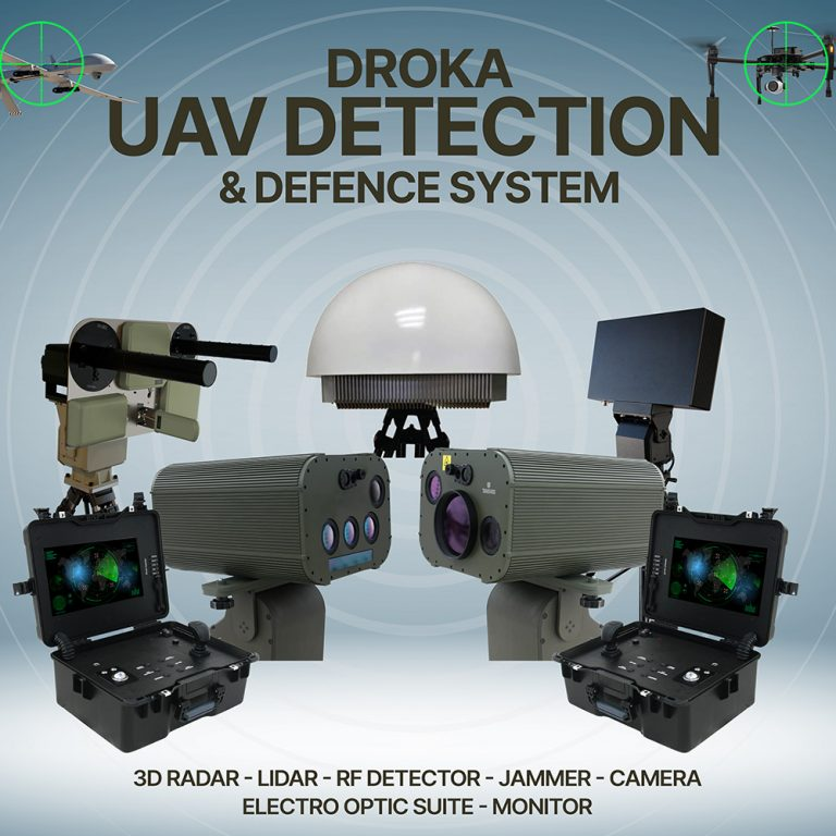 DROKA UAV Detection, Recognition and Protection System - Transvaro