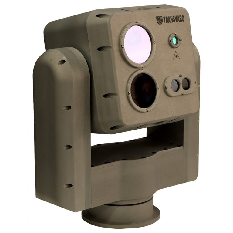 Thermal / Day And Night Vision Long Range Gimbal Camera - Transvaro