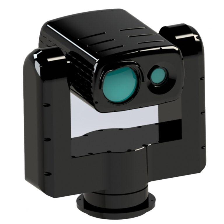 Day And Night Vision Long Range Gimbal Camera with Zoom Illuminator - Transvaro